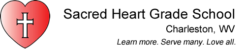Sacred Heart Grade School, Charleston Logo